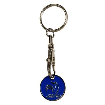 Porte clé Jeton pile ou face