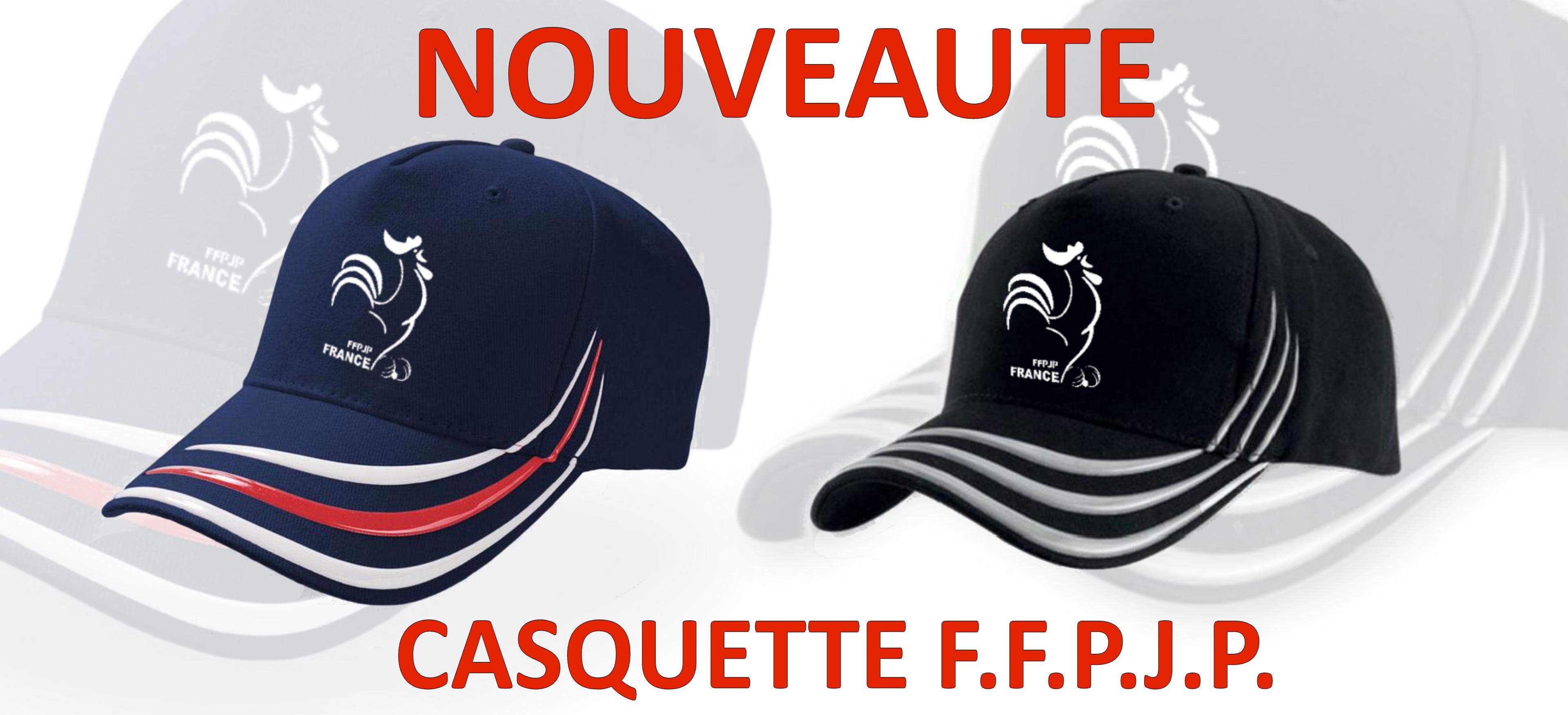 Nouvelle Casquette FFPJP